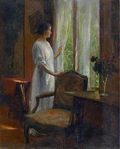 Attente à la fenêtre - by Marcel RIEDER