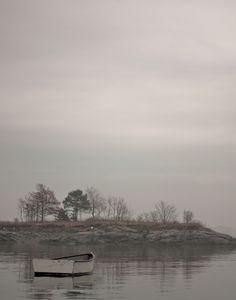 ahhhh....I LOVE fog - Marblehead, MA