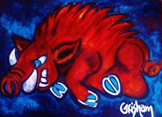 """Woo Pig"" available in print only. Canvas prints starting at only $69"