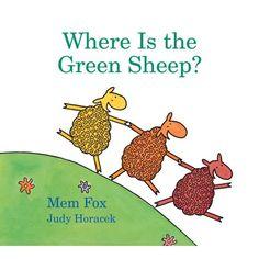 Where Is the Green Sheep? (Horn Book Fanfare List (Awards)) by Mem Fox, Judy Horacek 9780152049072 Used Books, Great Books, Sh Sound, Red Sheep, Rhyming Activities, Therapy Activities, Preschool Books, Kindergarten Books, Preschool Literacy