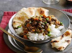 Quick Coconut Lamb Curry