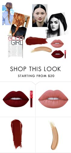 """make up"" by minhthaoluong on Polyvore featuring beauty, Lime Crime, NARS Cosmetics and Gucci"