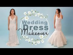 Take any top and refashion it into a dress bodice Thrifted wedding dress refash… Making A Wedding Dress, Diy Wedding Dress, Affordable Wedding Dresses, Diy Dress, Dress Ideas, Wedding Ideas, Bridal Sash Belt, Bridal Gowns, Dress Makeover