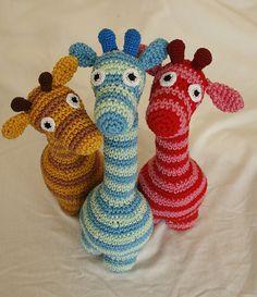 3 little piggies.. eeh.. .giraffes by Snowfaerie, via Flickr