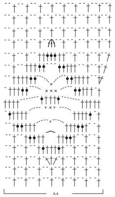 """""""Aphrodite"""" top by Drops Design - Free crochet pattern & diagram Débardeurs Au Crochet, Crochet Woman, Filet Crochet, Drops Design, Aphrodite, Star Patterns, Print Patterns, Crochet Patterns, Crochet Stitches"""