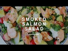 Quick Smoked Salmon Salad | Wild Dish - YouTube