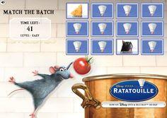 Juego Ratatouille