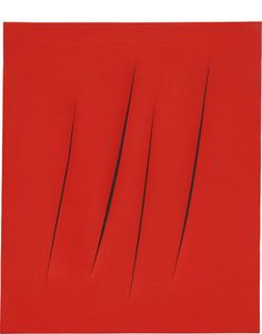 View Concetto spaziale, Attese by Lucio Fontana sold at Century & Contemporary Art Evening Sale on New York Auction 17 May Learn more about the piece and artist, and its final selling price Little Red, Yorkie, Contemporary Art, New York, Wall Decor, Cap, Decoration, Rose, Wall Hanging Decor