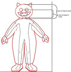 mascot tutorial.gif (666×681) Turtle Costumes, Animal Costumes, Mascot Costumes, Diy Costumes, Hello Kitty Costume, Puppet Tutorial, Puppet Patterns, Puppet Making, Mascot Design