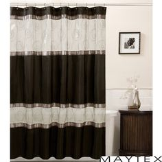 Maytex Marco Shower Curtain #bathroom