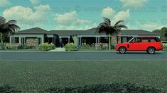 4 Bedroom House Plan MLB-058.1S – My Building Plans South Africa