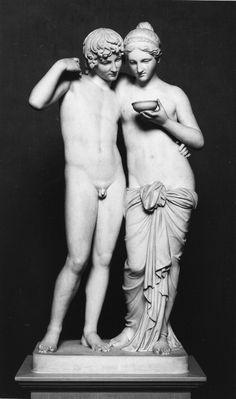 Cupid and Psyche- Bertel Thorvaldsen