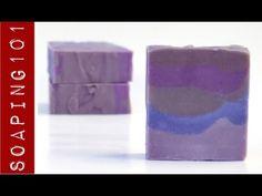 Achieving the Perfect Purple in Cold Process Soap {with micas + oxides} - One of the hardest colors to achieve!