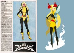 The Official Handbook to the Marvel Universe - REDUX Edition: MAGIK by Patricio Oliver