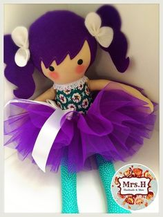"19"" dolly with removable tutu Suitable from birth Hand wash only:"