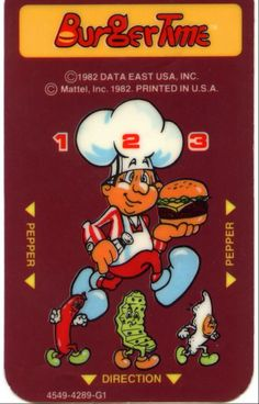 BurgerTime Overlay
