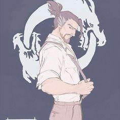 Hanzo the sexy dragon