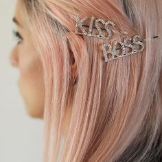 Where's your bling bling? We got you covered girl! Perfect as gifts for your bridesmaids or besties! Available: Boss, Kiss, Love, Girls Marquee Wedding, Covergirl, Happy Day, Besties, Bobby Pins, Hair Accessories, Classy, Elegant, Amelia