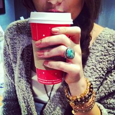 Red cups & #CharmedArms :)