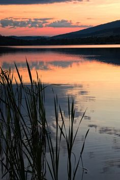 Sunset at Canoe Creek State Park, Hollidaysburg, Pennsylvania