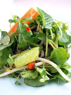 asian watercress salad