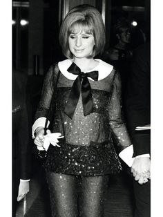 Dresses: Barbra Streisand at The Academy Awards, 1969
