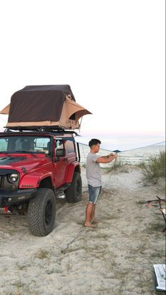 #jeep #tent tent camping #camping #plaja #vadu #redjeep #red #romania #seaside #seaview #sea #travel #holiday #relax #trip #tripideas Jeep Tent, Red Jeep, Tent Camping, Romania, Seaside, Marie, Relax, Holiday, Travel