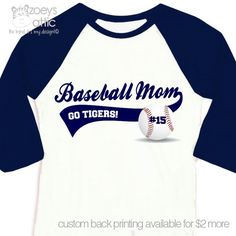 Hey, I found this really awesome Etsy listing at https://www.etsy.com/listing/186947037/baseball-mom-shirt-custom-with-name-and
