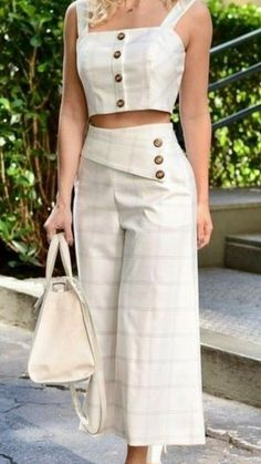 Mode Outfits, Dress Outfits, Casual Dresses, Casual Outfits, Fashion Pants, Fashion Dresses, Kurti Designs Party Wear, Western Dresses, Mode Style