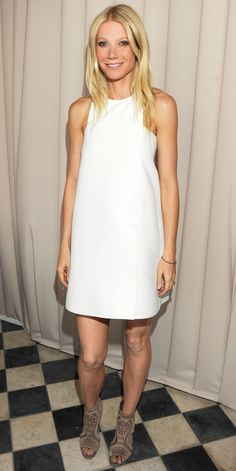 No One Wears White Like Gwyneth Paltrow—See All Her Best Looks! - April 11, 2011  - from InStyle.com
