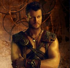 "Dan Feuerriegel Fan Art picture for Agron. original picture came from""Spartacus…"