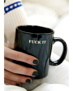 HUF Fuck it Coffee Mug | Dolls Kill