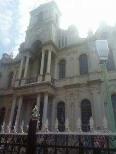Biserica greaca Braila Romania, Barcelona Cathedral, Louvre, Building, Travel, Viajes, Buildings, Destinations, Traveling