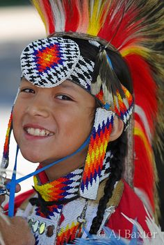 First Nations boy at Pow Wow. Cute.