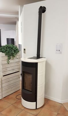 stylowa Evoca #white #piecyk # fireplace Stove, Home Appliances, Wood, House Appliances, Range, Woodwind Instrument, Timber Wood, Appliances, Trees