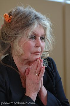 Brigitte Bardot. I love how this beautiful woman has aged and stayed true to herself. To me that's beauty.