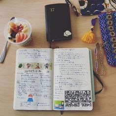 shangzi_2朝からしろくま(ᵔᴥᵔ) #notebook #moleskinejp #moleskine #モレスキン #能率手帳 #手帳会議2017/07/14 06:45:34