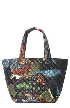 MZ Wallace 'Medium Metro' Quilted Oxford Nylon Tote available at #Nordstrom
