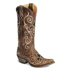 Old Gringo Women's Evelyn Cowgirl Boot - Snip Toe, found on #polyvore. #shoes #boots cowboy boots