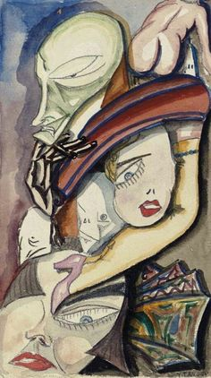 "Yves Tanguy ""Untitled"" 1924"