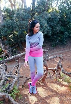 Look by @cris_casual with #leggins #grey #pink #fitness #tshirts #sammydress #degrade.
