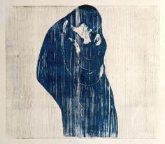 Edvard Munch, Indigo, Kiss, Darth Vader, Google, Fictional Characters, Indigo Dye, A Kiss, Kiss Me