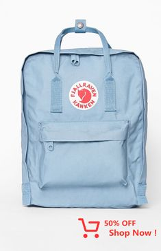 FJALLRAVEN presents a classic look that has been well loved for decades with the Kanken Backpack. This women's backpack features a water-resistant, vinylon construction with a main compartment and front zip pocket. Mochila Kanken, Kanken Backpack Mini, Backpack Bags, Messenger Bags, Travel Backpack, Cute Backpacks For School, Nice Backpacks, Teen Backpacks, Leather Backpacks