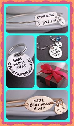 Personalized mother's day gifts that are perfect for all the harder to find names like mimi, nana, gigi, meemaw, yiayia, and all the others. Any name can be requested!