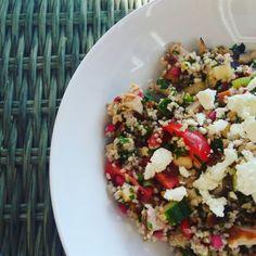 bulgursalade jamie gerookte kip Jamie Oliver, Cobb Salad, Barbecue, Ham, Food, Pasta, Bulgur, Barbacoa, Bbq