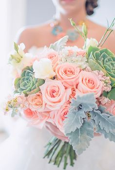 ramos de novia con suculentas - Google Search