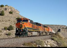RailPictures.Net Photo: BNSF 1049 BNSF Railway GE C44-9W (Dash 9-44CW) at Abo Canyon, New Mexico by Joe Blackwell