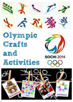 olympic crafts and activities via The Mad House