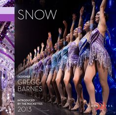 """A flurry of facts on one of our favorite #RadioCityChristmas Spectacular costumes—""""Snow"""""""