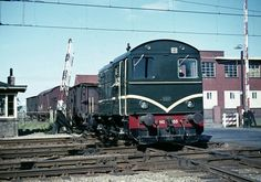 Diesel Locomotive, Train, Rotterdam, Netherlands, Dutch, World, Pictures, Photos, Trains